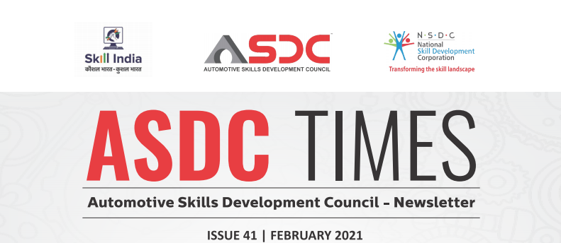 Automotive Skills Development Council - Issue  41