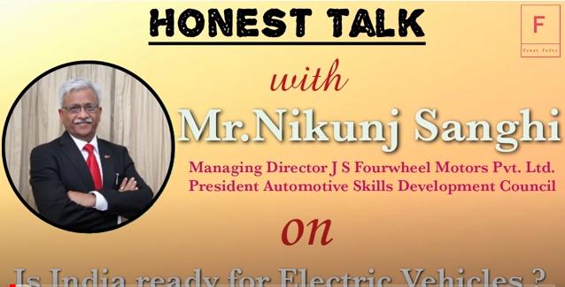 Honest Talk with Mr. Nikunj Sanghi on