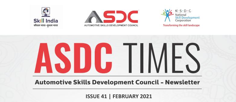 Automotive Skills Development Council - Issue  41