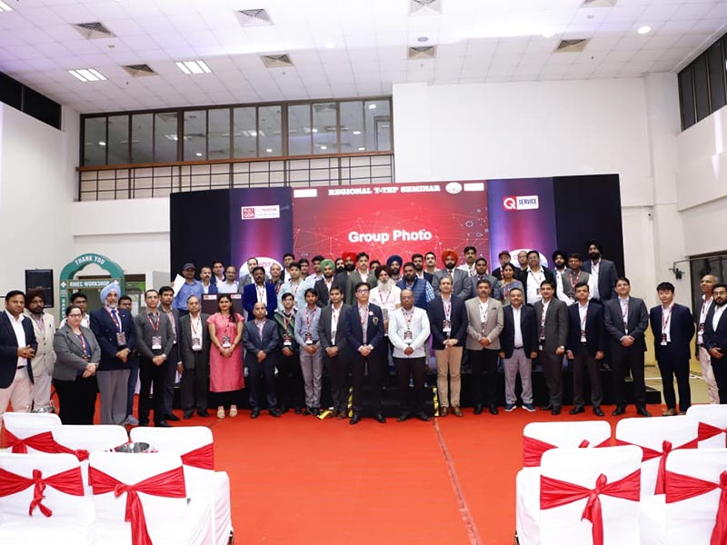 The T-TEP Regional Seminar, North, held on 7th March at Manesar witnessed participation of various BodyShop Technicians, Service Advisors, and General Technicians in the Skills competition for instructors at Toyota institutions.