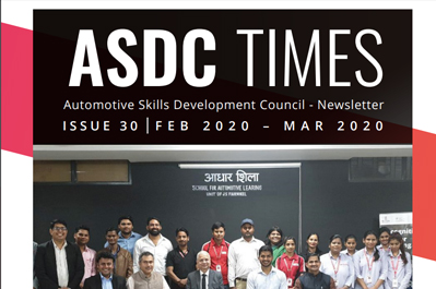 Automotive Skills Development Council - Issue  30