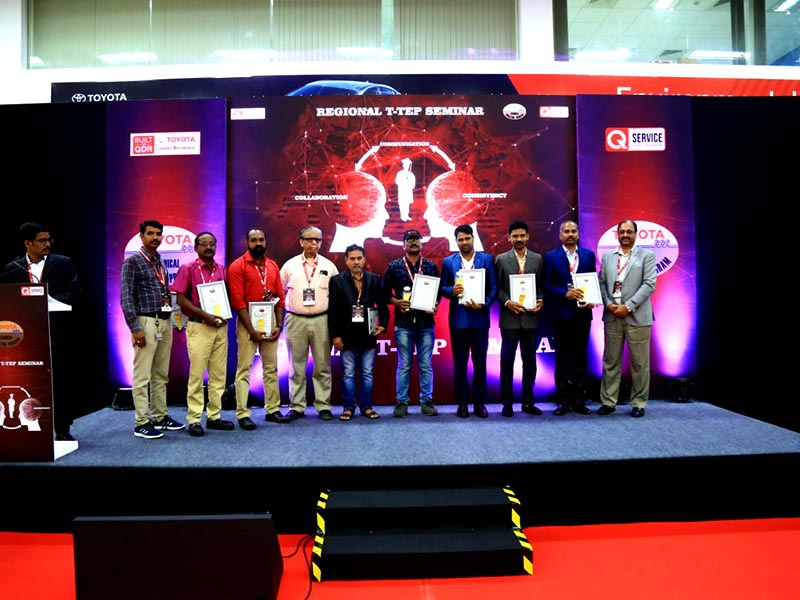 The 2020 Regional 'Toyota Technical Education Program' was held at the TKM Excellence Center Bengaluru, Gurugram & Pune, with the vision of contributing a highly-skilled ecosystem for the Indian Auto Industry.