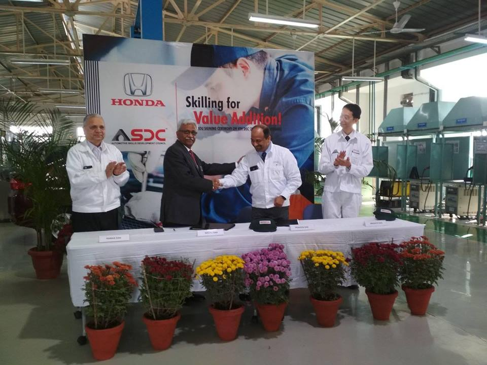 MoU signing ceremony at HVTI.