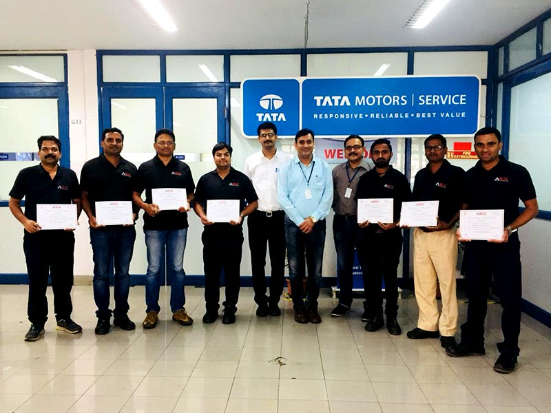ASDC MasterClass Jury Certification Program for Automobile  Technology skill held at Tata Motors Training Center, Pune from 5-6th March 2020