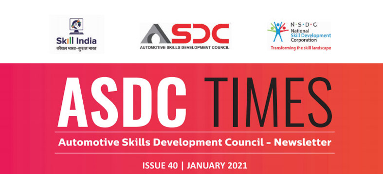 Automotive Skills Development Council - Issue  40