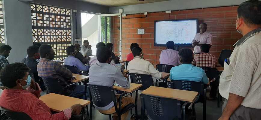 TIMKEN training program at TVS Knowledge Center
